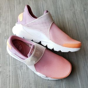 Nike Sock Dart athletic shoes sneakers ombre pink